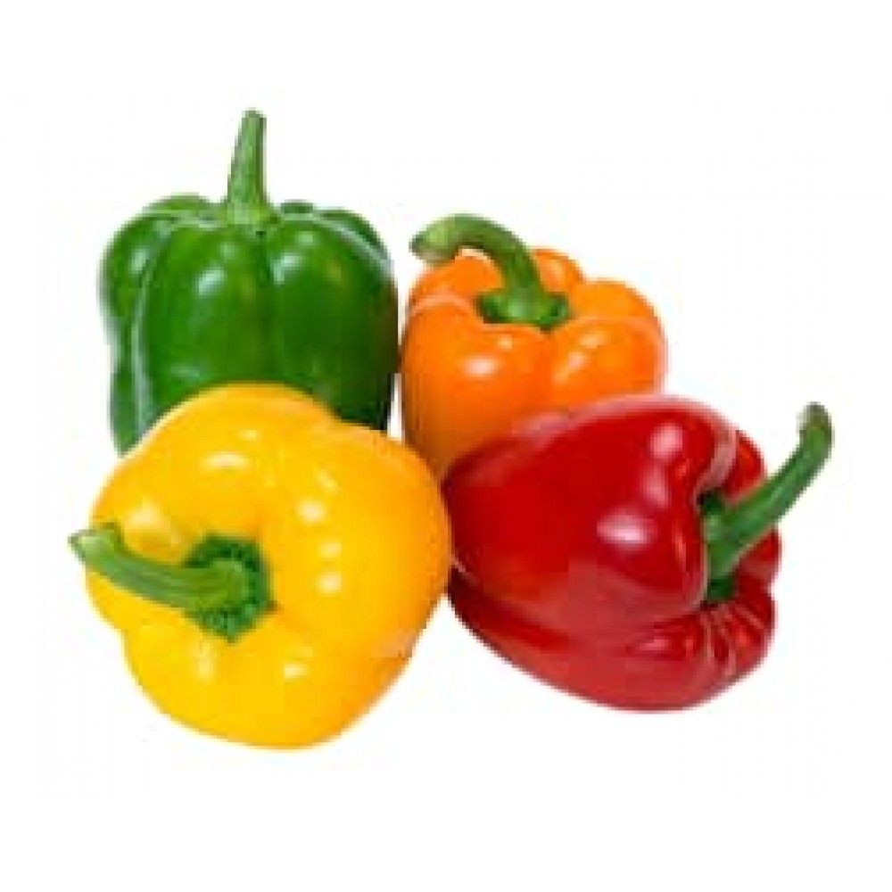 Bell Peppers Mixture(Green, Yellow, Red, Orange) 1kg